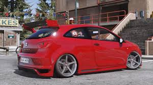 Seat by Seat Ibiza Cupra Add On Gta5 Mods Com