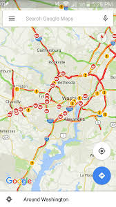I 95 Map Traffic Map Dc Uptowncritters Rush Hour Traffic Maps From Around
