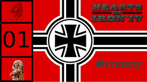 German War Flag Hearts Of Iron 4 Germany Fascist And Führious 1 Youtube