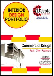 ankita gupta b sc interior design commercial design portfolio