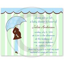 mod baby shower modern blue shower invitations