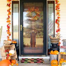 outdoor fall decorations outdoor fall decor the country chic cottage