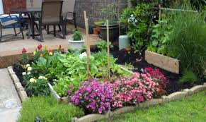 outdoor and patio corner balcony garden ideas mixed with tiny