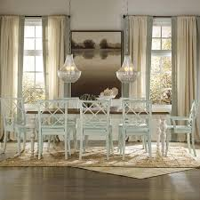 Beach Dining Room Sets by Casual Cottage Coastal 9 Piece Table U0026 Chair Set By Hooker