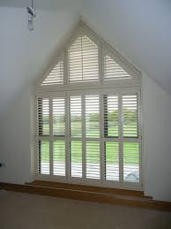 image result for window dressing on half apex window curtins on