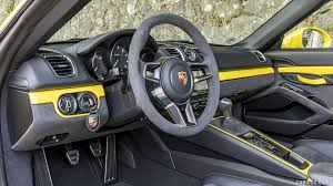 2016 Porsche Boxster Spyder Color Racing Yellow Interior Hd