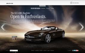 mercedes website official open to enthusiasts mercedes sls amg roadster web special