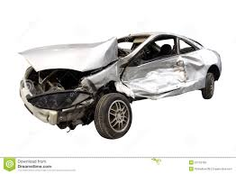 wrecked car clipart wrecked car stock image image of injured accident collision