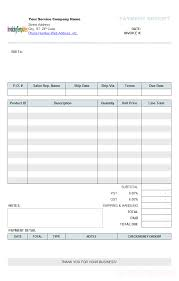 Car Wash Invoice Template by Doc Receipt For Services Rendered Invoice Exles Invoices