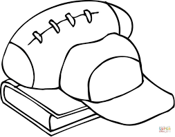 Football Coloring Pages Free Coloring Pages Football Coloring Page