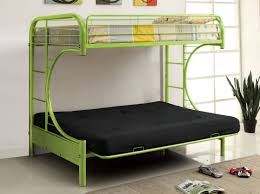Furniture Of America Spectrum Twin Over Futon Metal Bunk Bed - Metal bunk bed futon combo