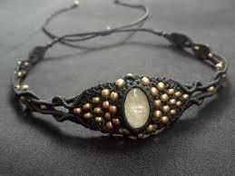 choker necklace jewelry images Choker necklace macrame jewelry m0128 macramen jewelry png