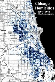 Map Chicago Suburbs by Chicago Homicide Map Chicago Murder Map United States Of America
