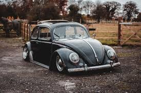 stanced volkswagen beetle beetle laying frame slam sanctuary
