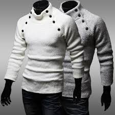 high sweaters hoe s fashion half turtleneck slim fit pullover sweater