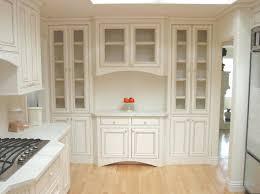 charleston antique white and saddleantique china cabinet painted
