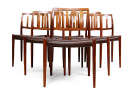 rosewood dining chairs by n moller model 79 set of 8