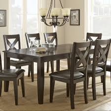 steve silver crosspointe dining table with 18