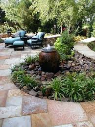 Rock Fountains For Garden Backyard Fountains Home Depot Patio Furniture Covers On Fresh And
