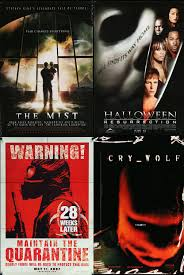 horror movie poster lot 1