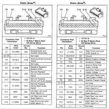 2007 buick rendezvous radio wiring diagram buick wiring diagrams
