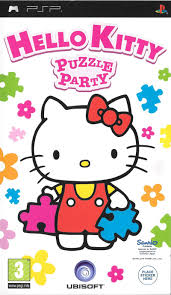 hello party hello puzzle party 2009 psp box cover mobygames