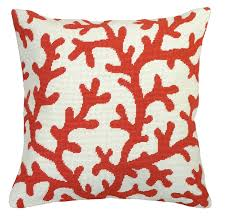 Pillow Designs by Red Coral Design Needlepoint Pillow Beach Home Pillows