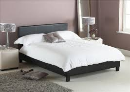 White Leather Sleigh Bed Down The Meadow A Leather Bed For Your Bedroom