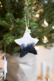 diy needle felted tree ornaments fall for diy