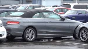 Mercedes C Class Coupe Convertible Scoop New Mercedes Benz C Class Cabriolet It Filmed With No