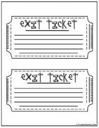 use 3 2 1 exit tickets as a way to get your students to summarize