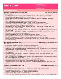Student Assistant Job Description For Resume by 16 Free Medical Assistant Resume Templates