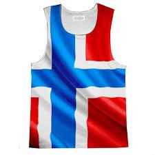 Flag Clothing Norway Flag Tank Top Shelfies