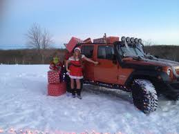 jeep christmas stocking 4wd awards winners in holiday deck your jeep photo contest