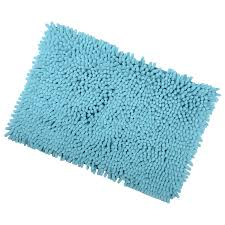 shaggy microfibre bathroom shower bath mat rug non slip backing shaggy microfibre bathroom shower bath mat rug non