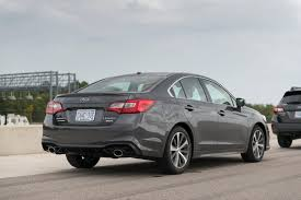 subaru legacy 2018 subaru legacy first drive review improved handling and looks