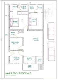 40 x 60 site east facing plot 3 bhk vastu home