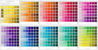 pantone colors 5 printable pantone color charts for word and pdf