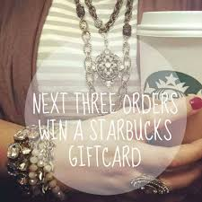 Starbucks Business Cards Hurry Next 3 Orders Win Starbucks Gift Cards Or Maybe