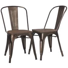 Vintage Wooden Dining Chairs I Love Living Tabouret Vintage Wood Seat Bistro Chair Set 2