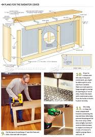 Woodworking Plans Shelf Brackets by Radiator Cover Plans U2022 Woodarchivist