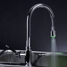 Modern Faucet Kitchen by Sinks And Faucets Led Faucet Aerator Kitchen Faucet With Led