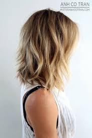 medium length hair styles shorter in he back longer in the front hair styles for medium length hair best 25 shoulder length