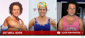 richard simmons disappeared from sight injury and