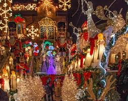 christmas lights dyker heights brooklyn ny picture of nysee