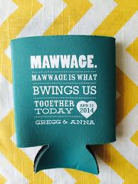 wedding koozie wedding quotes quote wedding koozies marriage is by