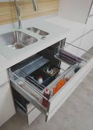 tiroirs cuisine tendance meuble sous evier tiroir avec ikea cuisine en image