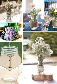 jar decorations for weddings jars at weddings 35 thrifty jar centerpieces that look