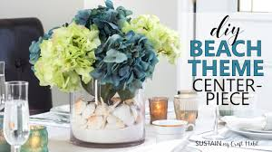 Bridal Shower Decor by Diy Beach Theme Centerpiece Coastal Wedding Bridal Shower
