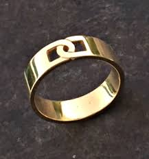 ring men gold band men gold ring mens wedding band mens engagement